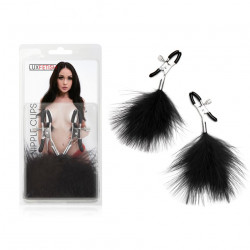 Lux Fetish 羽毛乳頭夾