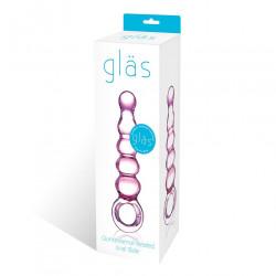Glas 後庭玻璃拉珠棒