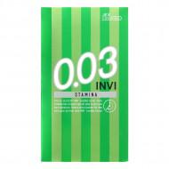 Jex INVI 0.03 耐力持久型安全套 一盒8個