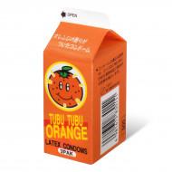 甜橙味安全小包 3 片裝 乳膠安全套