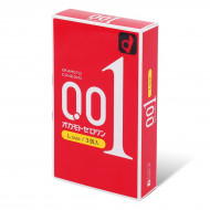 岡本 0.01 大碼 (日本版) 3 片裝 PU 安全套