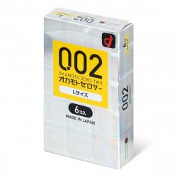 岡本 薄度均一 0.02 大碼 (日本版)  6 片裝 PU 安全套