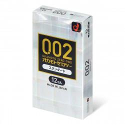 岡本 薄度均一 0.02 (日本版) 12 片裝 PU 安全套