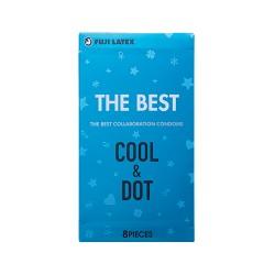 The Best 冰感凸點 乳膠安全套-8片